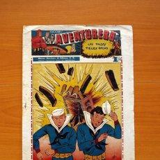 Tebeos: AVENTURERO 2ª ÉPOCA O SERIE, Nº 12 - EDITORIAL HISPANO AMERICANA 1945 - TAMAÑO 38X27. Lote 97909567