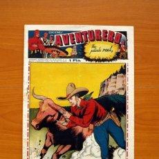 Tebeos: AVENTURERO 2ª ÉPOCA O SERIE, Nº 13 - EDITORIAL HISPANO AMERICANA 1945 - TAMAÑO 38X27. Lote 97909675