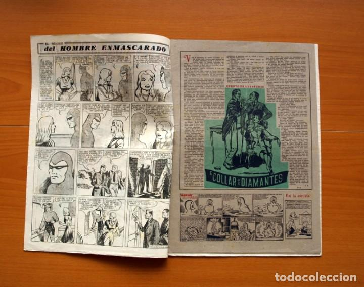 Tebeos: Aventurero 2ª época o serie, nº 13 - Editorial Hispano Americana 1945 - Tamaño 38x27 - Foto 2 - 97909675