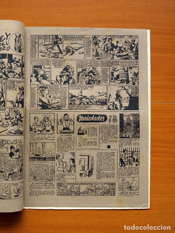 Tebeos: Aventurero 2ª época o serie, nº 13 - Editorial Hispano Americana 1945 - Tamaño 38x27 - Foto 3 - 97909675