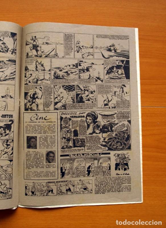 Tebeos: Aventurero 2ª época o serie, nº 13 - Editorial Hispano Americana 1945 - Tamaño 38x27 - Foto 5 - 97909675