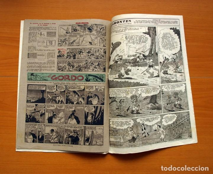Tebeos: Aventurero 2ª época o serie, nº 13 - Editorial Hispano Americana 1945 - Tamaño 38x27 - Foto 6 - 97909675