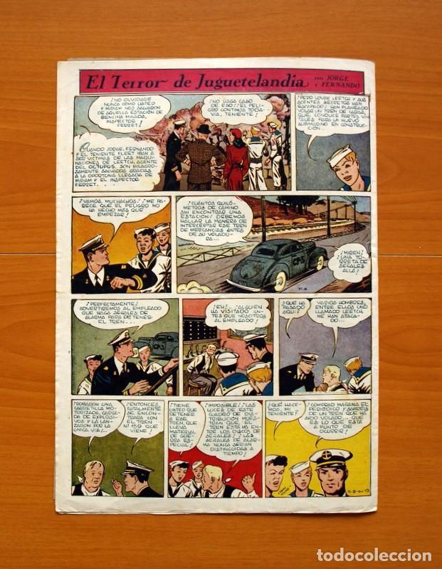 Tebeos: Aventurero 2ª época o serie, nº 13 - Editorial Hispano Americana 1945 - Tamaño 38x27 - Foto 7 - 97909675