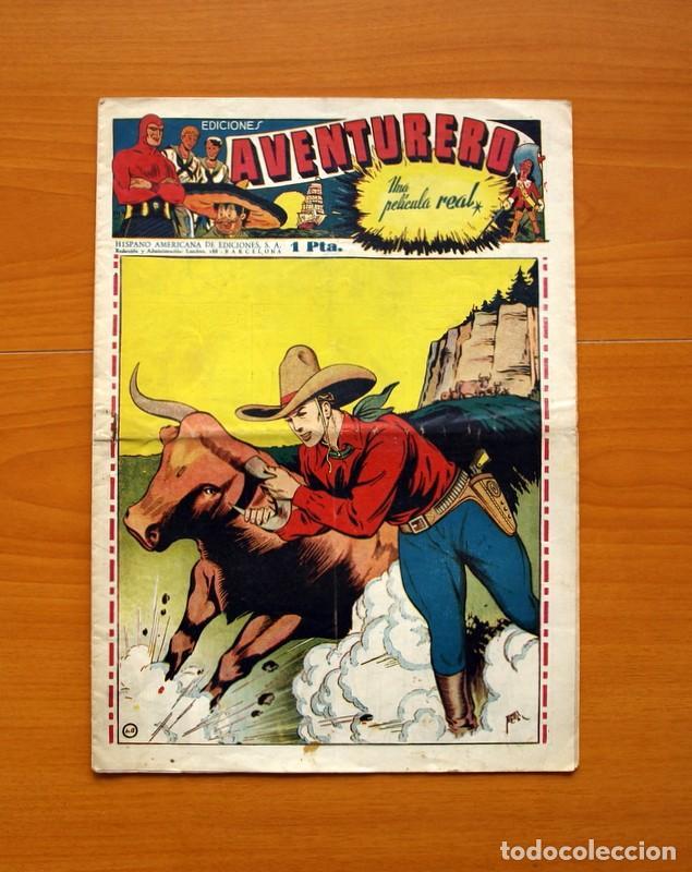 AVENTURERO 2ª ÉPOCA O SERIE, Nº 13 - EDITORIAL HISPANO AMERICANA 1945 - TAMAÑO 38X27 (Tebeos y Comics - Hispano Americana - Aventurero)