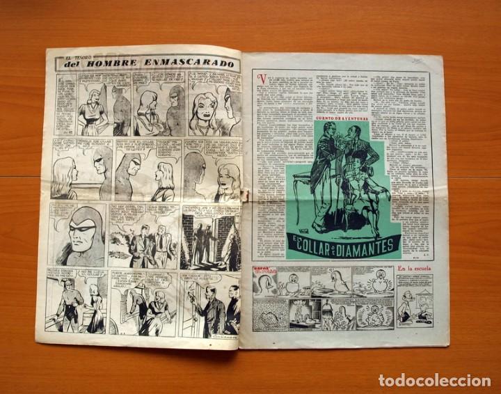 Tebeos: Aventurero 2ª época o serie, nº 13 - Editorial Hispano Americana 1945 - Tamaño 38x27 - Foto 2 - 97909787