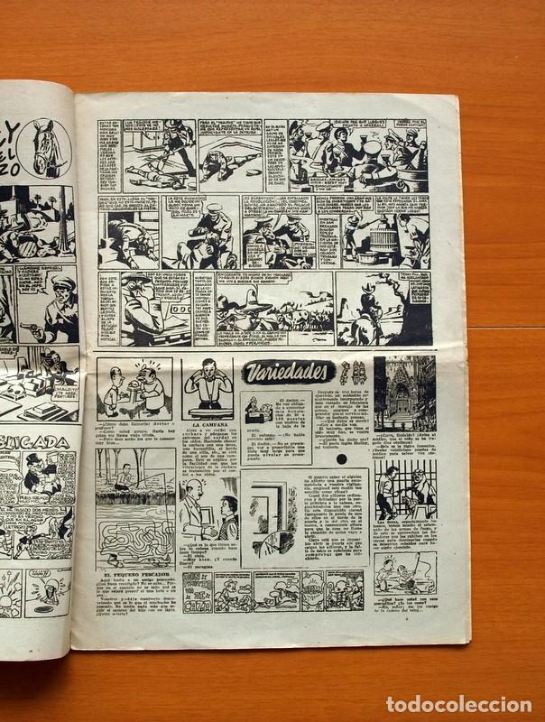 Tebeos: Aventurero 2ª época o serie, nº 13 - Editorial Hispano Americana 1945 - Tamaño 38x27 - Foto 3 - 97909787