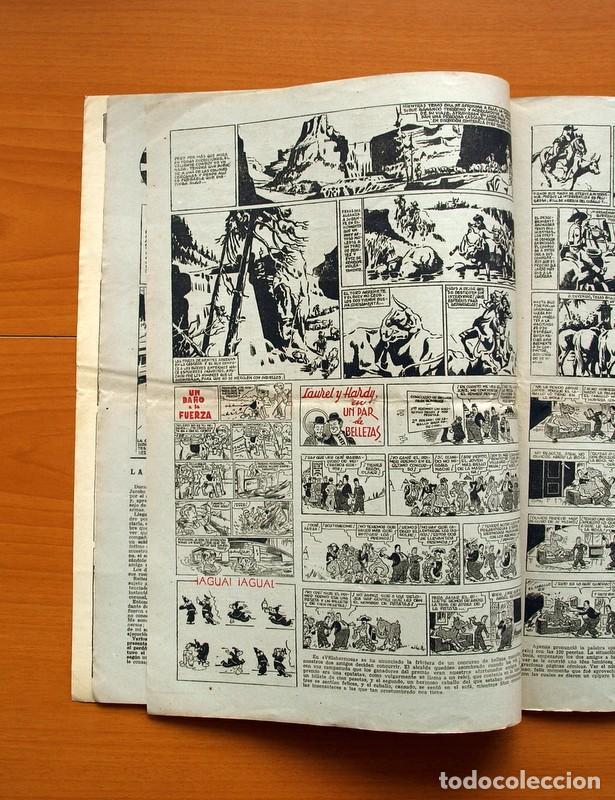 Tebeos: Aventurero 2ª época o serie, nº 13 - Editorial Hispano Americana 1945 - Tamaño 38x27 - Foto 4 - 97909787