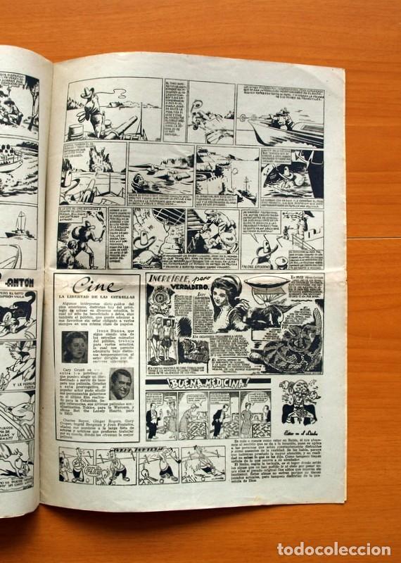 Tebeos: Aventurero 2ª época o serie, nº 13 - Editorial Hispano Americana 1945 - Tamaño 38x27 - Foto 5 - 97909787