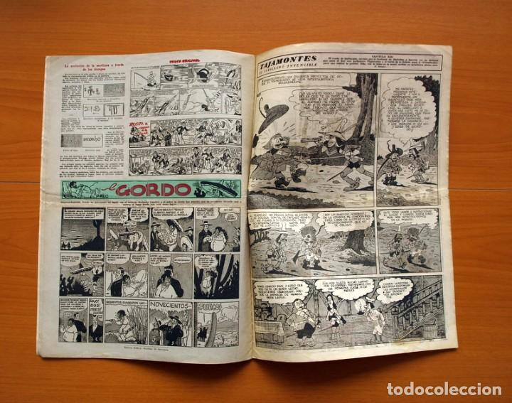 Tebeos: Aventurero 2ª época o serie, nº 13 - Editorial Hispano Americana 1945 - Tamaño 38x27 - Foto 6 - 97909787