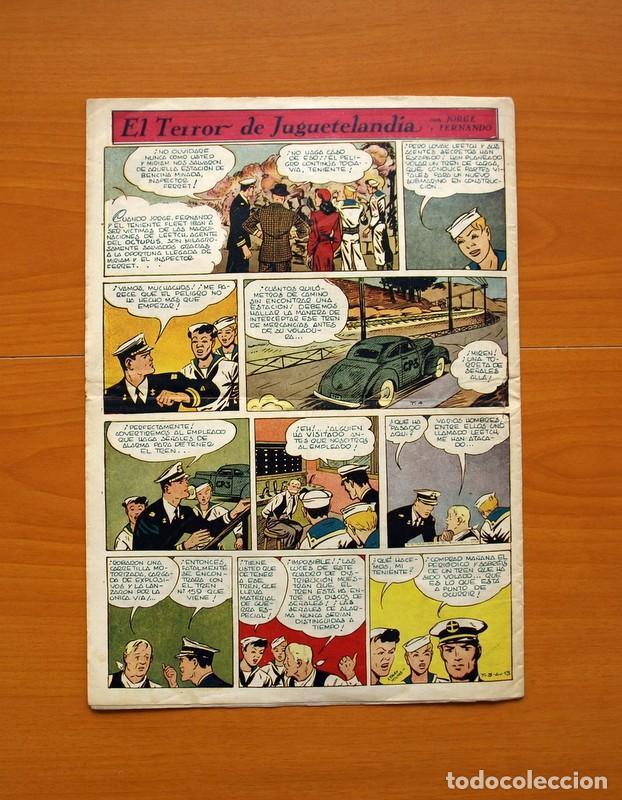 Tebeos: Aventurero 2ª época o serie, nº 13 - Editorial Hispano Americana 1945 - Tamaño 38x27 - Foto 7 - 97909787