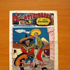 Tebeos: AVENTURERO 2ª ÉPOCA O SERIE, Nº 16 - EDITORIAL HISPANO AMERICANA 1945 - TAMAÑO 38X27. Lote 97909923