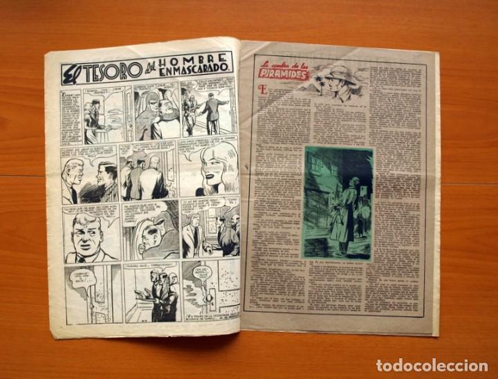 Tebeos: Aventurero 2ª época o serie, nº 16 - Editorial Hispano Americana 1945 - Tamaño 38x27 - Foto 2 - 97909923
