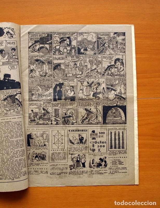 Tebeos: Aventurero 2ª época o serie, nº 16 - Editorial Hispano Americana 1945 - Tamaño 38x27 - Foto 3 - 97909923