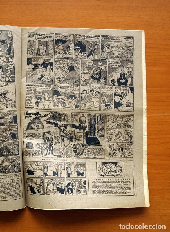 Tebeos: Aventurero 2ª época o serie, nº 16 - Editorial Hispano Americana 1945 - Tamaño 38x27 - Foto 5 - 97909923
