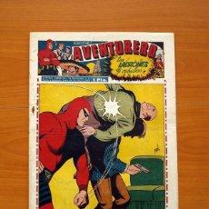 Tebeos: AVENTURERO 2ª ÉPOCA O SERIE, Nº 17 - EDITORIAL HISPANO AMERICANA 1945 - TAMAÑO 38X27. Lote 97910091