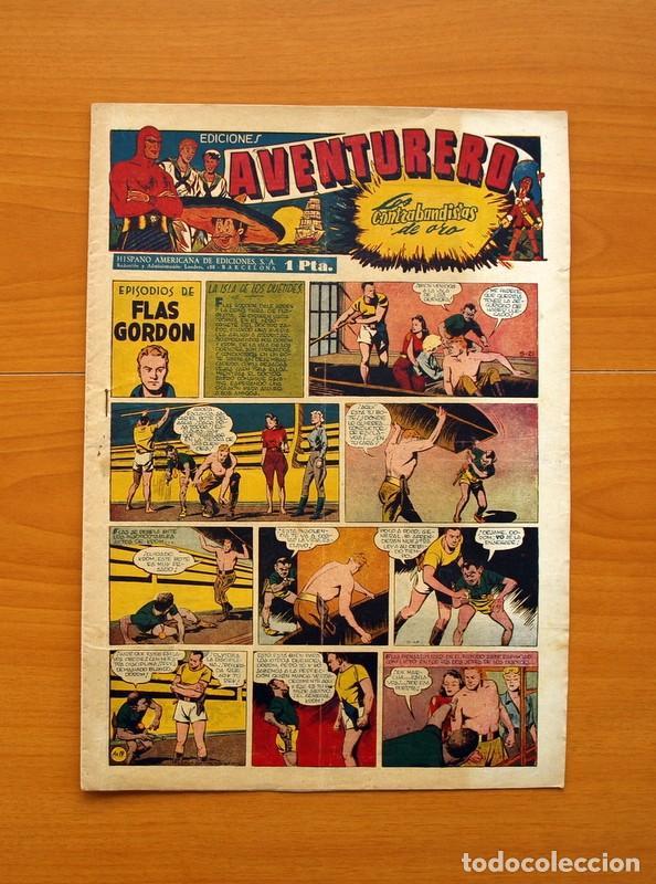 AVENTURERO 2ª ÉPOCA O SERIE, Nº 19 - EDITORIAL HISPANO AMERICANA 1945 - TAMAÑO 35X25 (Tebeos y Comics - Hispano Americana - Aventurero)