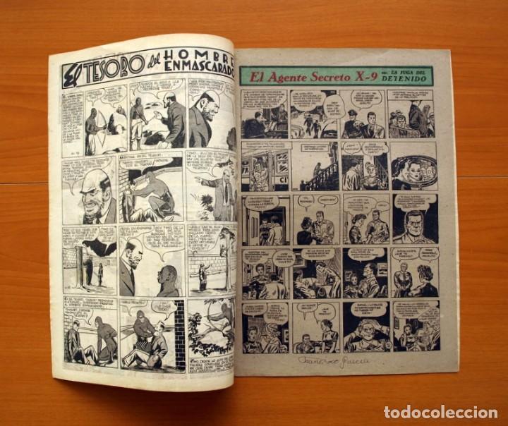 Tebeos: Aventurero 2ª época o serie, nº 19 - Editorial Hispano Americana 1945 - Tamaño 35x25 - Foto 2 - 97910731