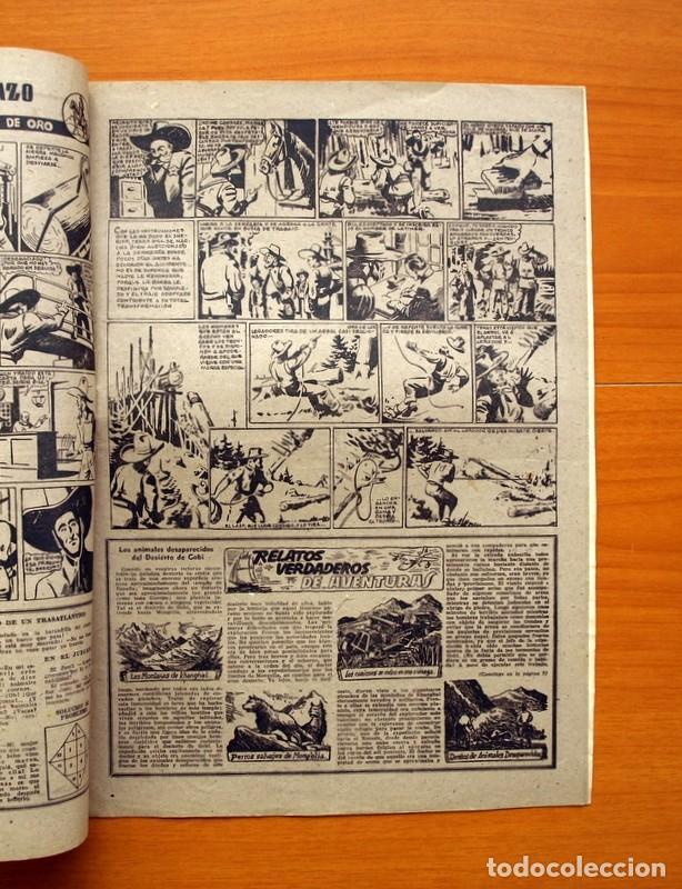 Tebeos: Aventurero 2ª época o serie, nº 19 - Editorial Hispano Americana 1945 - Tamaño 35x25 - Foto 3 - 97910731