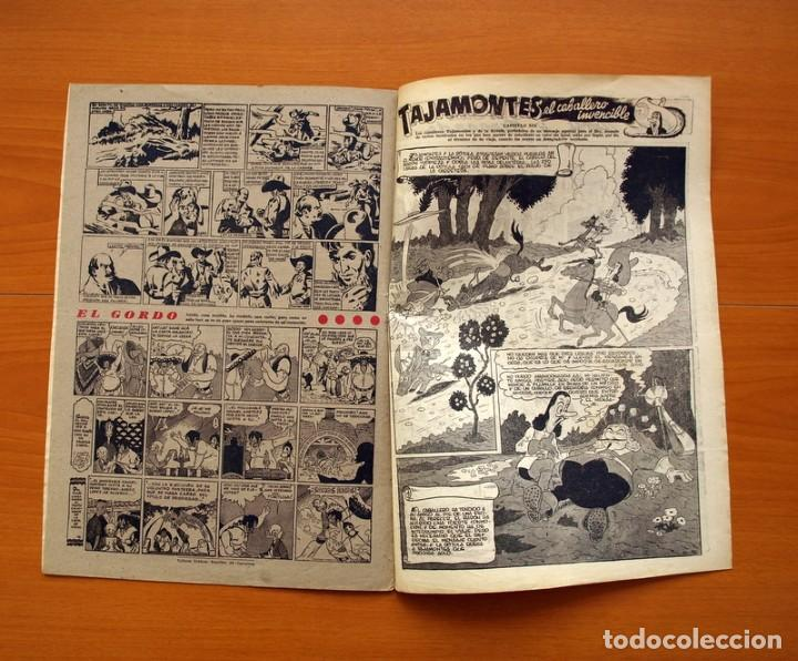 Tebeos: Aventurero 2ª época o serie, nº 19 - Editorial Hispano Americana 1945 - Tamaño 35x25 - Foto 6 - 97910731