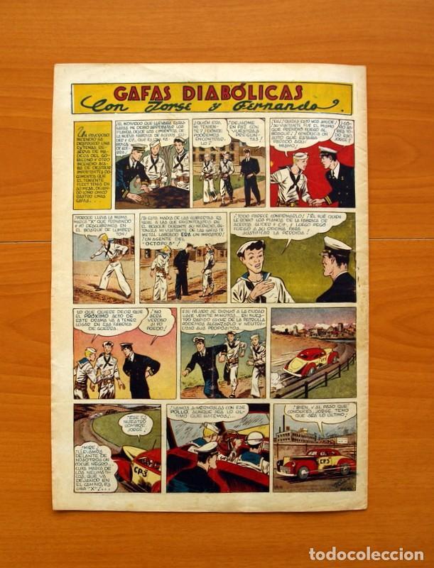 Tebeos: Aventurero 2ª época o serie, nº 19 - Editorial Hispano Americana 1945 - Tamaño 35x25 - Foto 7 - 97910731