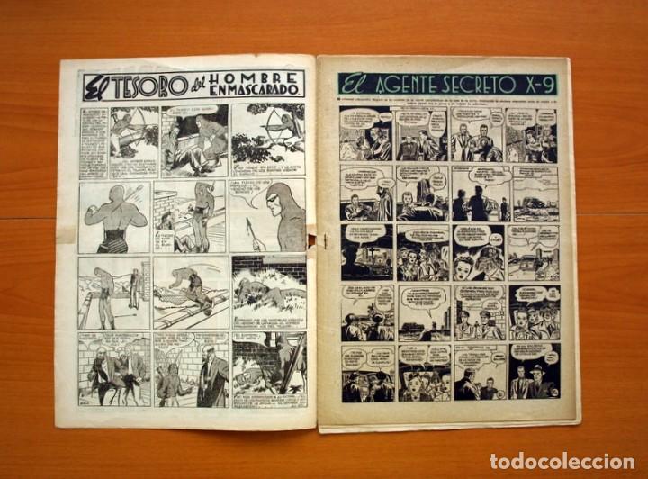 Tebeos: Aventurero 2ª época o serie, nº 20 - Editorial Hispano Americana 1945 - Tamaño 35x25 - Foto 2 - 97910823