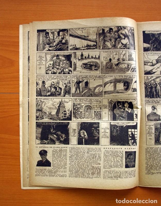 Tebeos: Aventurero 2ª época o serie, nº 20 - Editorial Hispano Americana 1945 - Tamaño 35x25 - Foto 5 - 97910823