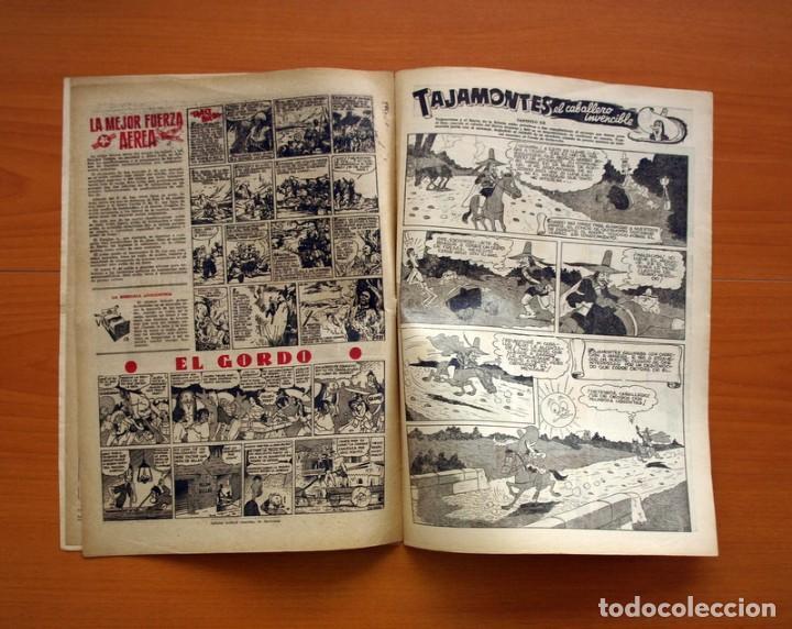 Tebeos: Aventurero 2ª época o serie, nº 20 - Editorial Hispano Americana 1945 - Tamaño 35x25 - Foto 6 - 97910823