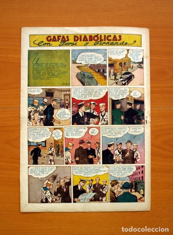 Tebeos: Aventurero 2ª época o serie, nº 20 - Editorial Hispano Americana 1945 - Tamaño 35x25 - Foto 7 - 97910823