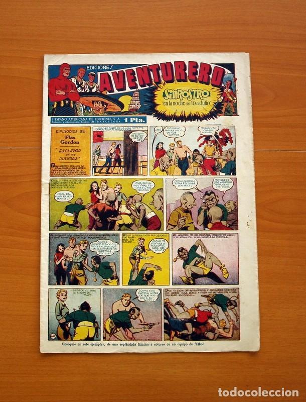 AVENTURERO 2ª ÉPOCA O SERIE, Nº 20 - EDITORIAL HISPANO AMERICANA 1945 - TAMAÑO 35X25 (Tebeos y Comics - Hispano Americana - Aventurero)