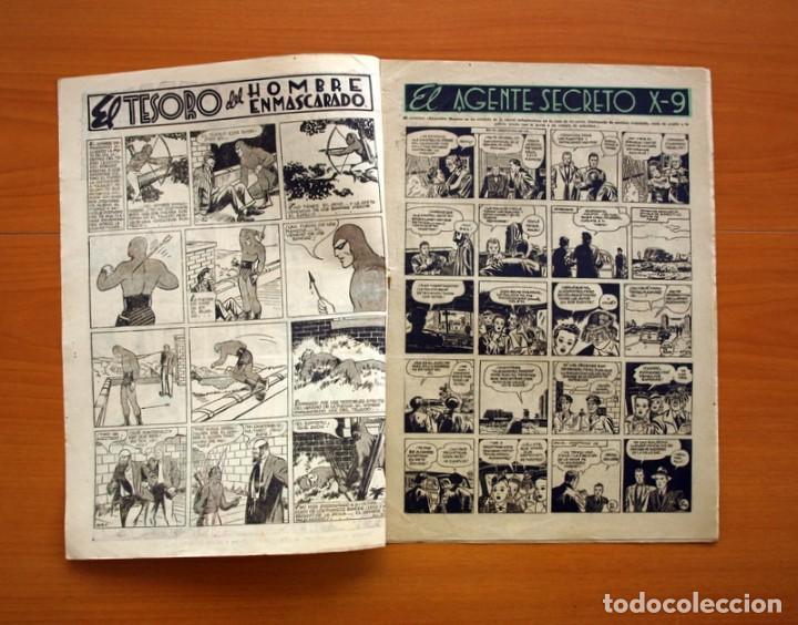 Tebeos: Aventurero 2ª época o serie, nº 20 - Editorial Hispano Americana 1945 - Tamaño 35x25 - Foto 2 - 97910911