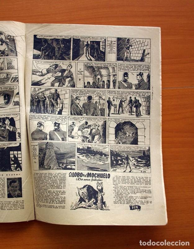 Tebeos: Aventurero 2ª época o serie, nº 20 - Editorial Hispano Americana 1945 - Tamaño 35x25 - Foto 5 - 97910911