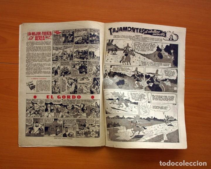 Tebeos: Aventurero 2ª época o serie, nº 20 - Editorial Hispano Americana 1945 - Tamaño 35x25 - Foto 6 - 97910911
