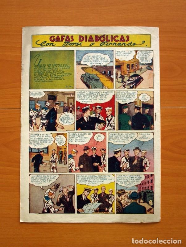 Tebeos: Aventurero 2ª época o serie, nº 20 - Editorial Hispano Americana 1945 - Tamaño 35x25 - Foto 7 - 97910911