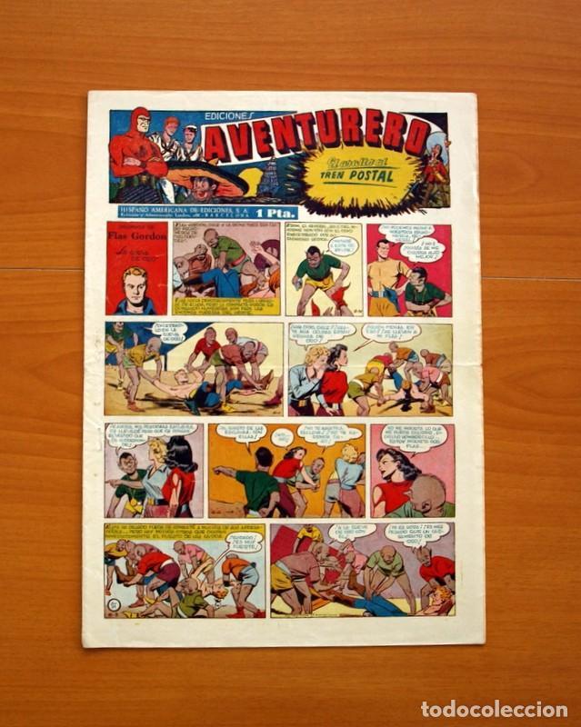 AVENTURERO 2ª ÉPOCA O SERIE, Nº 21 - EDITORIAL HISPANO AMERICANA 1945 - TAMAÑO 35X25 (Tebeos y Comics - Hispano Americana - Aventurero)