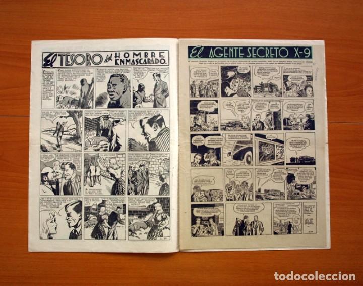 Tebeos: Aventurero 2ª época o serie, nº 21 - Editorial Hispano Americana 1945 - Tamaño 35x25 - Foto 2 - 97911015
