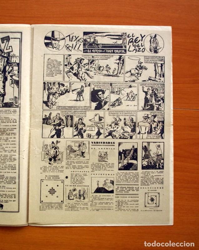 Tebeos: Aventurero 2ª época o serie, nº 21 - Editorial Hispano Americana 1945 - Tamaño 35x25 - Foto 3 - 97911015