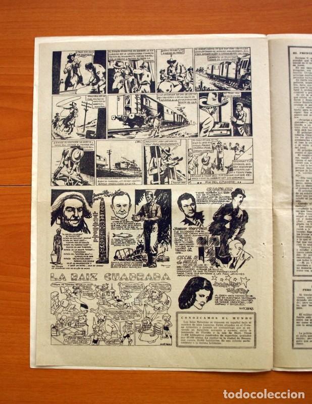 Tebeos: Aventurero 2ª época o serie, nº 21 - Editorial Hispano Americana 1945 - Tamaño 35x25 - Foto 5 - 97911015