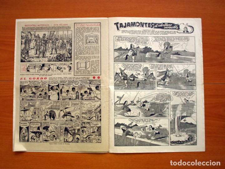 Tebeos: Aventurero 2ª época o serie, nº 21 - Editorial Hispano Americana 1945 - Tamaño 35x25 - Foto 6 - 97911015