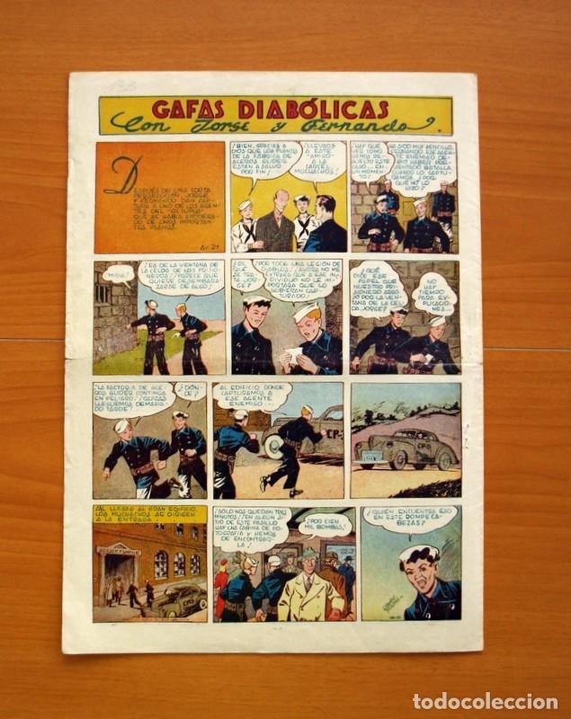 Tebeos: Aventurero 2ª época o serie, nº 21 - Editorial Hispano Americana 1945 - Tamaño 35x25 - Foto 7 - 97911015