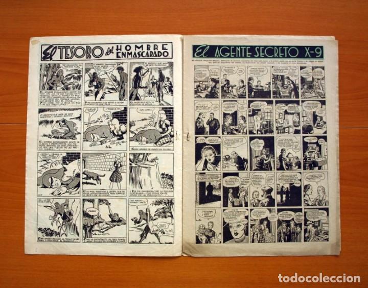 Tebeos: Aventurero 2ª época o serie, nº 24 - Editorial Hispano Americana 1945 - Tamaño 35x25 - Foto 2 - 97911191