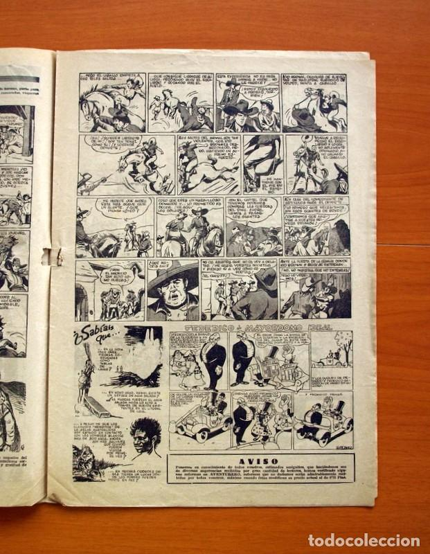 Tebeos: Aventurero 2ª época o serie, nº 24 - Editorial Hispano Americana 1945 - Tamaño 35x25 - Foto 3 - 97911191