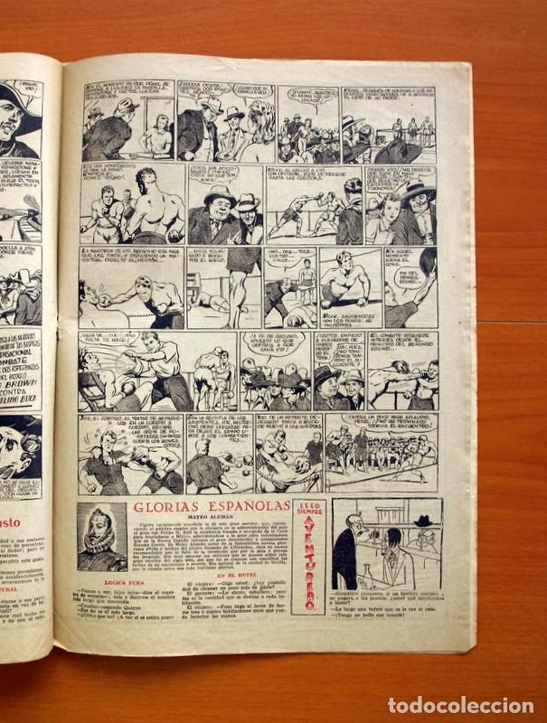 Tebeos: Aventurero 2ª época o serie, nº 24 - Editorial Hispano Americana 1945 - Tamaño 35x25 - Foto 4 - 97911191