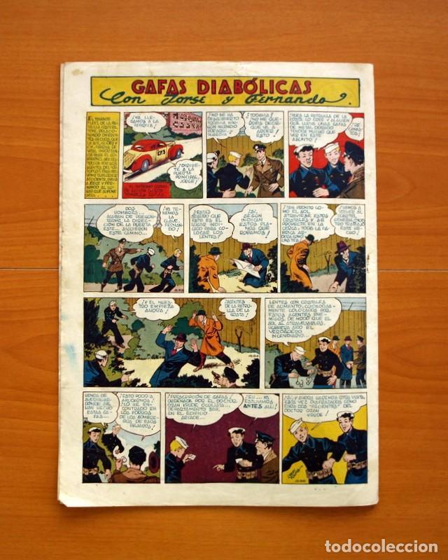 Tebeos: Aventurero 2ª época o serie, nº 24 - Editorial Hispano Americana 1945 - Tamaño 35x25 - Foto 6 - 97911191