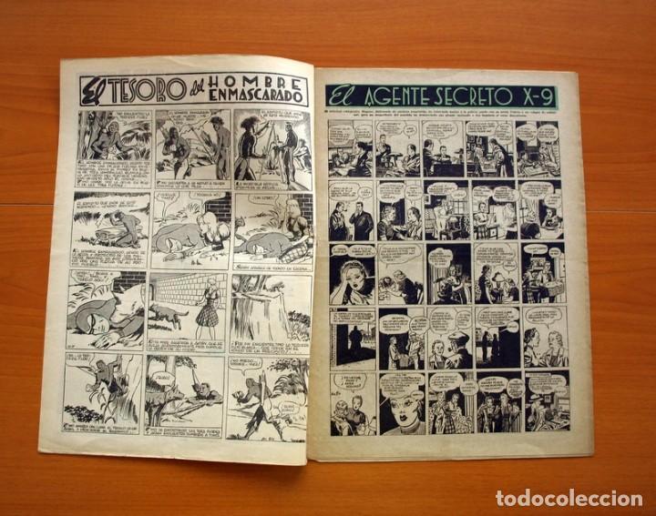 Tebeos: Aventurero 2ª época o serie, nº 24 - Editorial Hispano Americana 1945 - Tamaño 35x25 - Foto 2 - 97911307