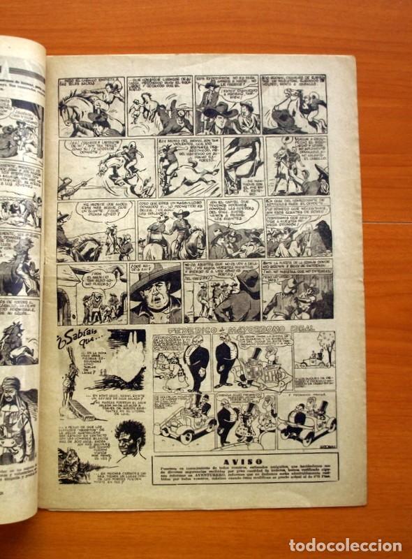 Tebeos: Aventurero 2ª época o serie, nº 24 - Editorial Hispano Americana 1945 - Tamaño 35x25 - Foto 3 - 97911307