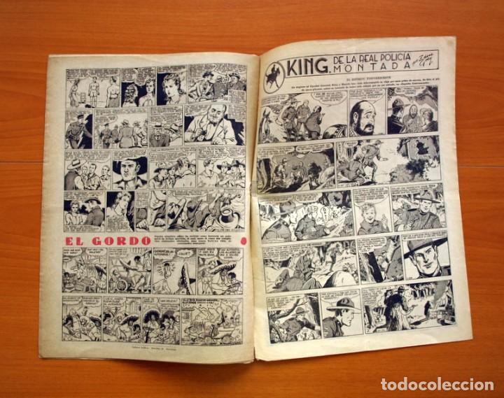 Tebeos: Aventurero 2ª época o serie, nº 24 - Editorial Hispano Americana 1945 - Tamaño 35x25 - Foto 6 - 97911307