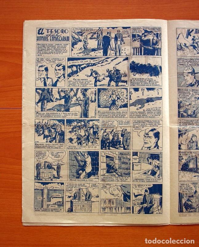 Tebeos: Aventurero 2ª época o serie, nº 28 - Editorial Hispano Americana 1945 - Tamaño 35x25 - Foto 3 - 97911411
