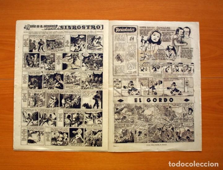 Tebeos: Aventurero 2ª época o serie, nº 28 - Editorial Hispano Americana 1945 - Tamaño 35x25 - Foto 5 - 97911411