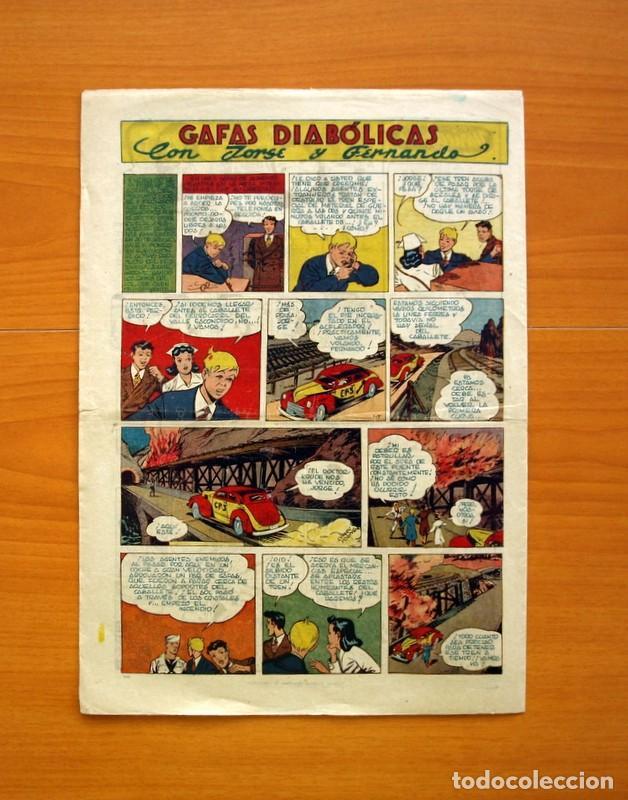 Tebeos: Aventurero 2ª época o serie, nº 28 - Editorial Hispano Americana 1945 - Tamaño 35x25 - Foto 6 - 97911411