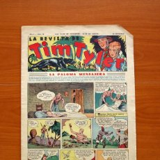 Tebeos: TIM TYLER, Nº 13, LA PALOMA MENSAJERA - EDITORIAL HISPANO AMERICANA 1934 - TAMAÑO 39X27. Lote 97921143
